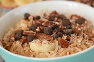 Tropical breakfast oatmeal - 25 Fabulous Oatmeal Recipes | Naturally Stellar