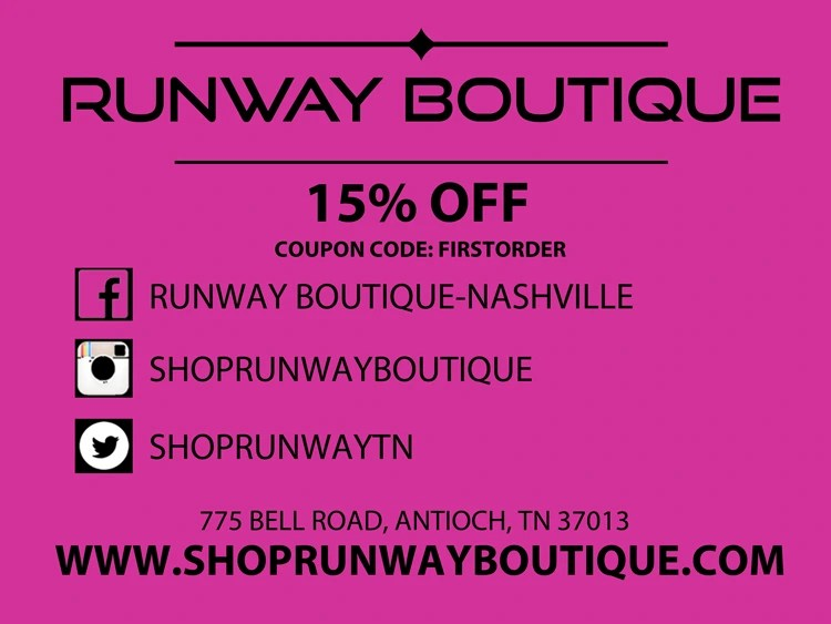 Her Business Spotlight - Runway Boutique Use coupon online or in-store | Naturally Stellar