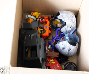 Recycling toys made easy #LessWasteChallenge | Naturally Stellar