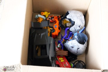 Recycling toys made easy #LessWasteChallenge   Naturally Stellar