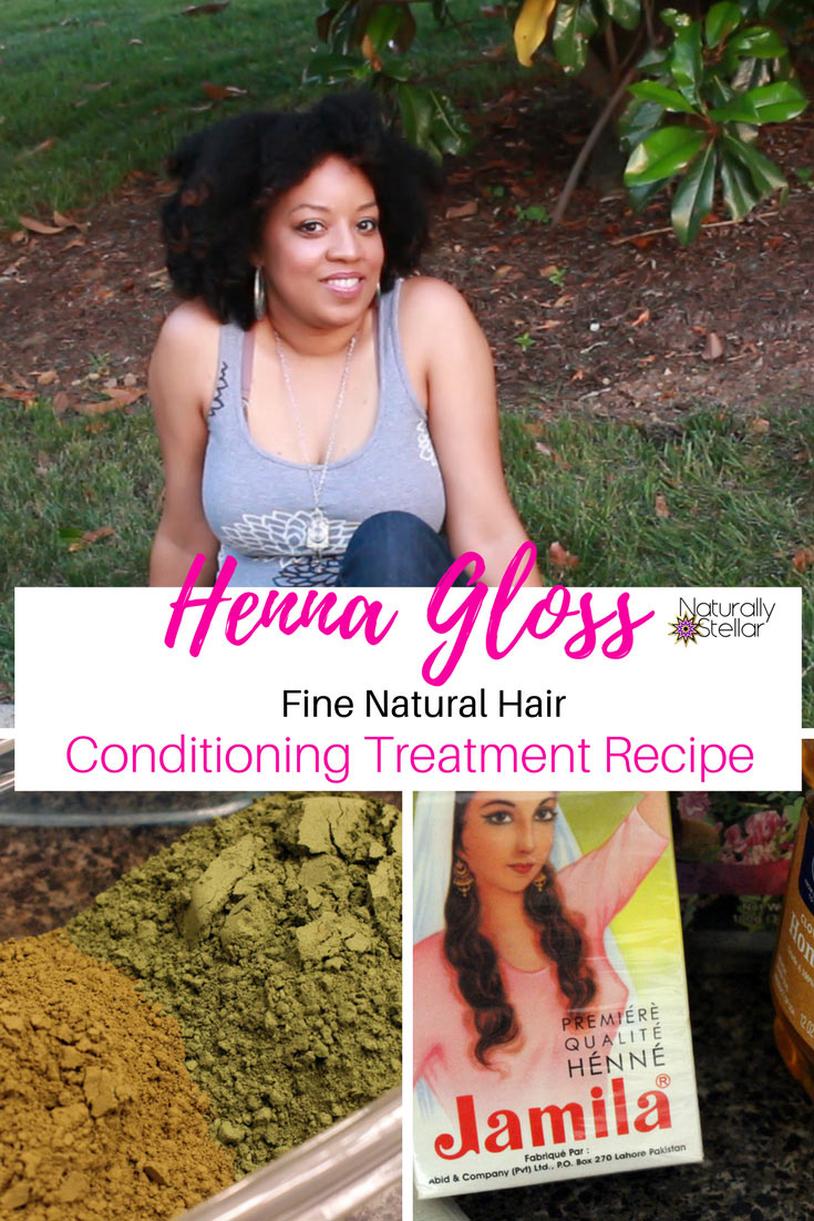 Henna Gloss Conditioning Treatment For Fine Thin Hair