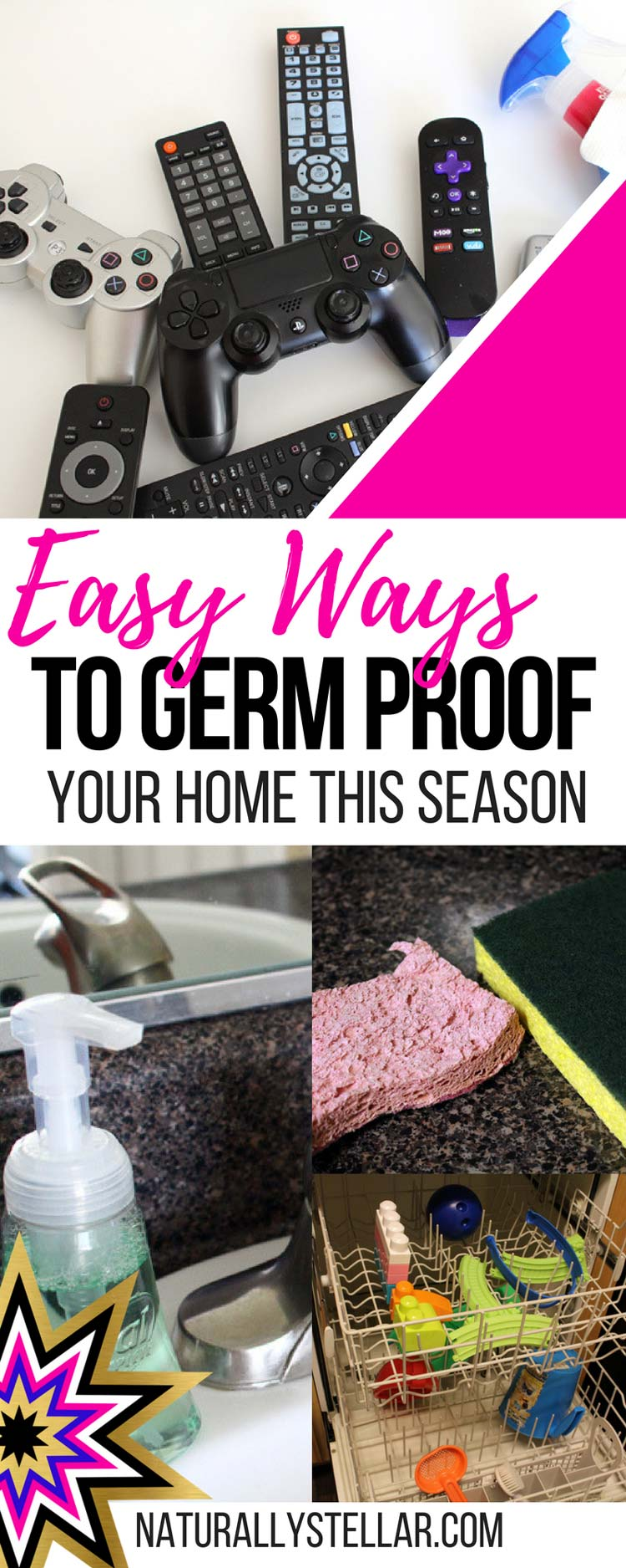 Easy Ways To Germ Proof Your Home   Naturally Stellar