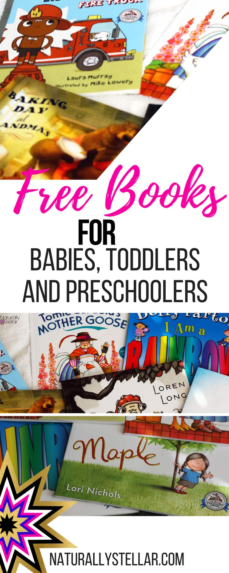 Free Books For Babies, Toddlers and PreSchoolers