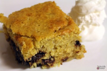 Banana Chocolate Chip Cornbread Recipe | Naturally Stellar
