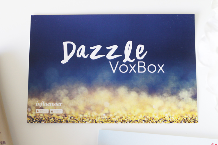 Dazzle VoxBox Influenster   Naturally Stellar