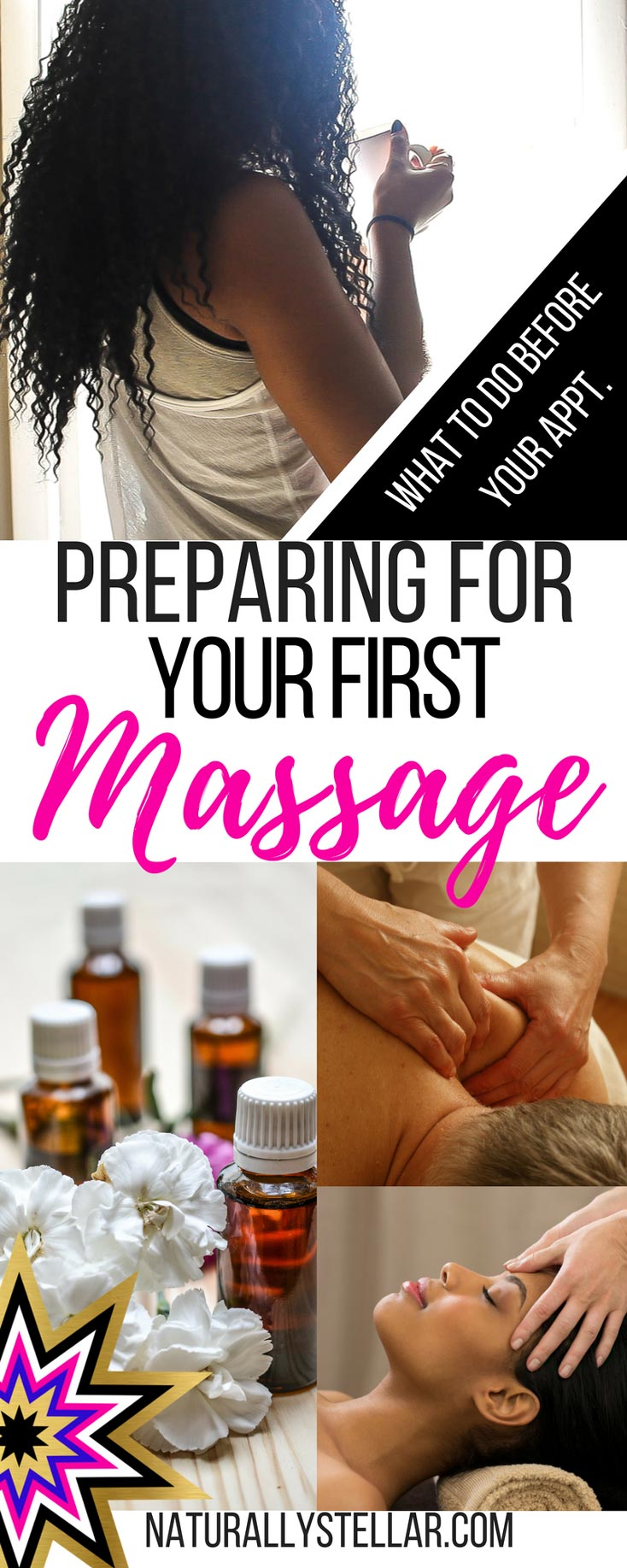 Preparing For Your First Massage | Naturally Stellar