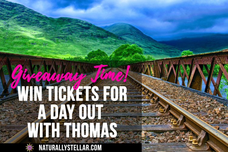 A Day Out With Thomas Ticket Giveaway | Naturally Stellar
