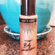 Beauty Review: wet n wild MegaGlo Body Luminizer | Naturally Stellar