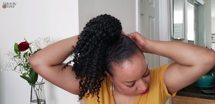 Simple Protective Styling: Ponytail Hair Pieces   Naturally Stellar