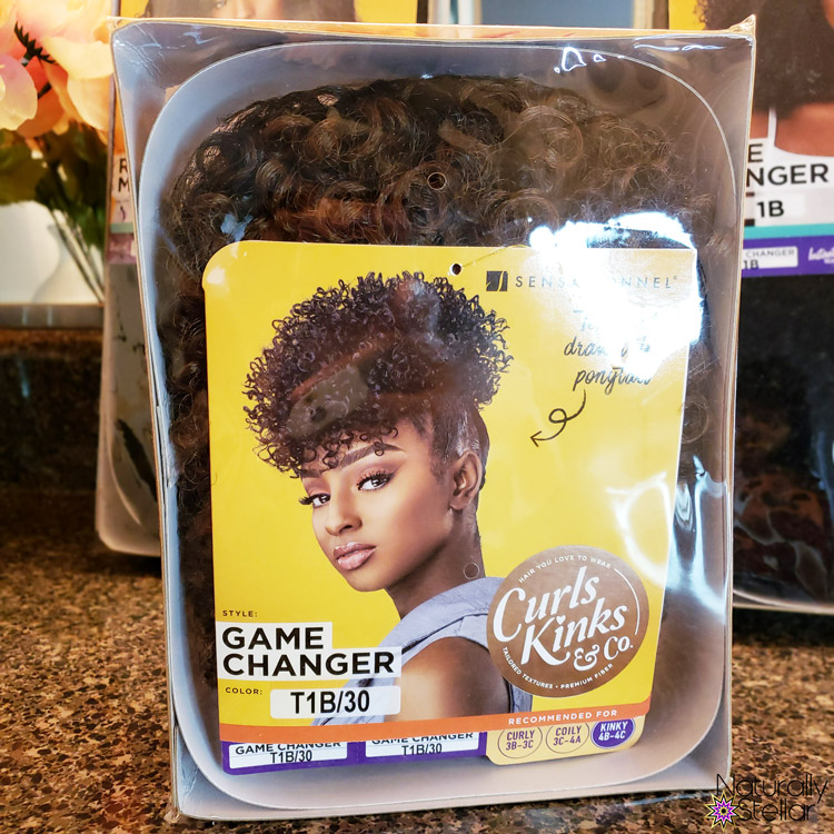 Curls Kinks and Co Game Changer Pony