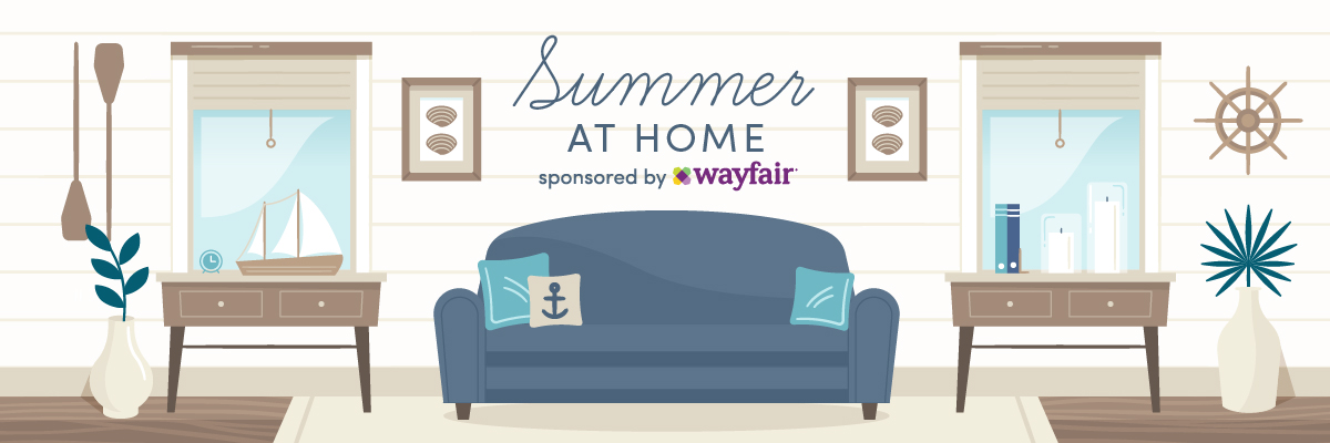 Wayfair Summer At Home | Naturally Stellar