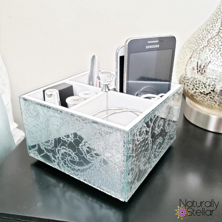 Summer Master Bedroom Makeover Mini Tour - Table Decor | Naturally Stellar