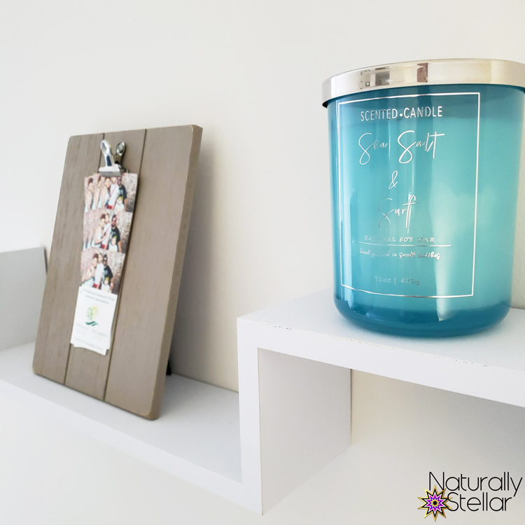 Summer Master Bedroom Makeover Mini Tour - Wall Shelf Decor | Naturally Stellar