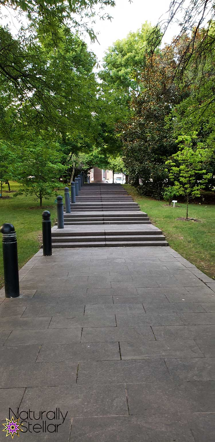 Keeping Family Time Simple This Summer - Nashville Park Stairs   Naturally Stellar