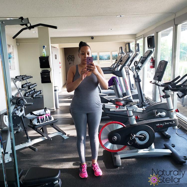 Start of day 2 - New Fitness Routine | Naturally Stellar