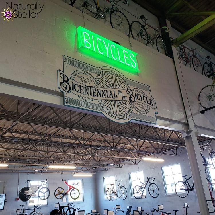 Bicycle room in Lane Motor Museum | Naturally Stellar