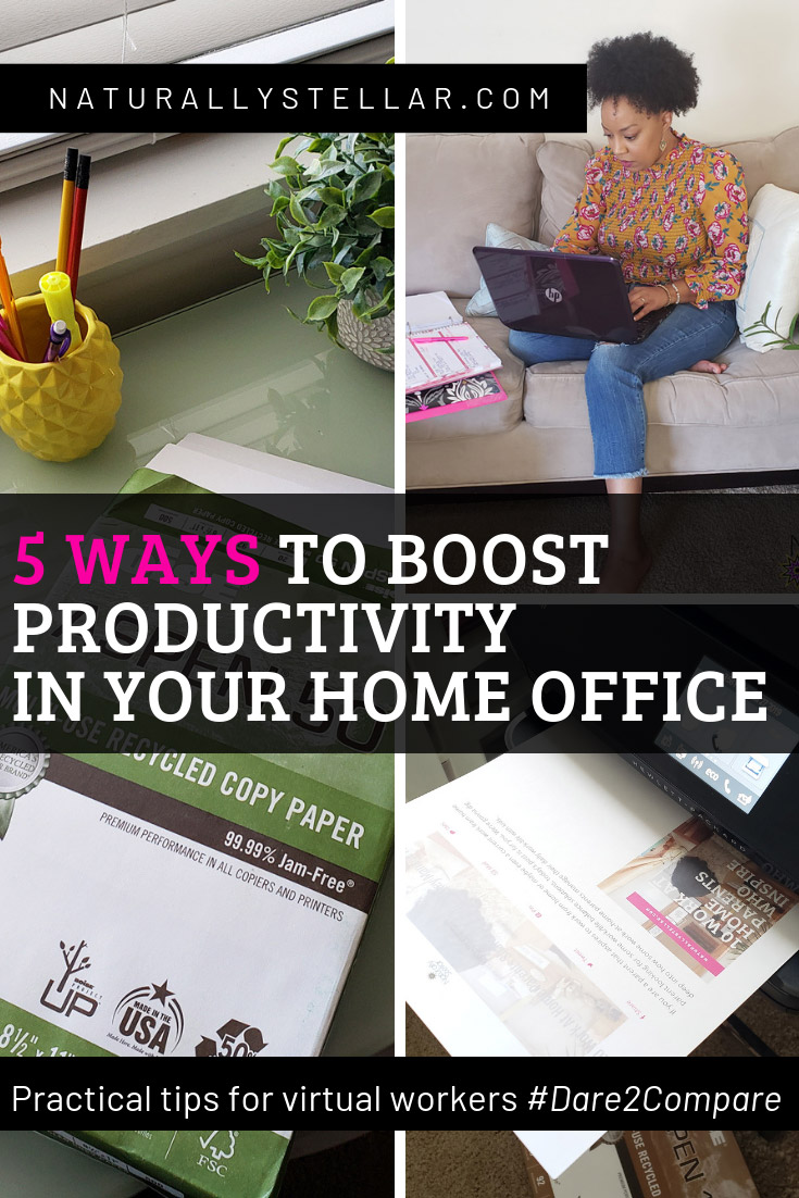 5 Ways To Boost Productivity For Virtual Workers | Naturally Stellar