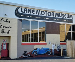 Lane Motor Museum Building Art | Naturally Stellar