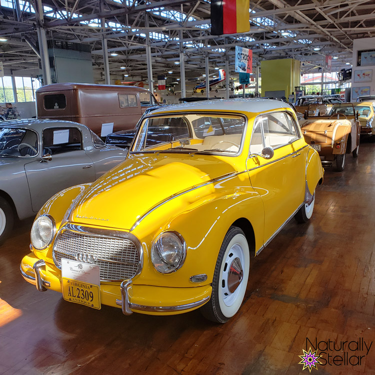 Yellow 1958 Auto Union 1000 | Naturally Stellar