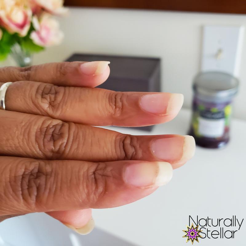 Bare Natural Nails Ready For A Manicure. Naturally Stellar