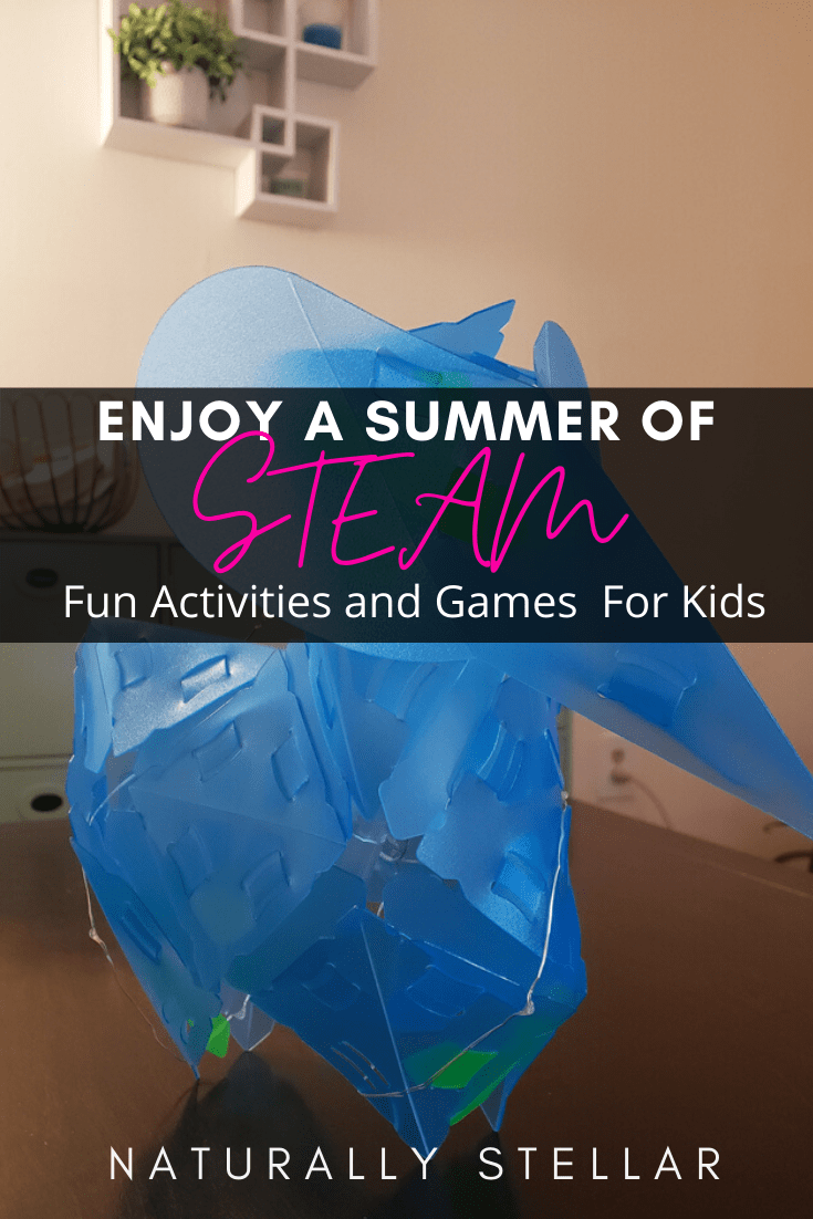 STEAM toys and games to keep kids busy this summer