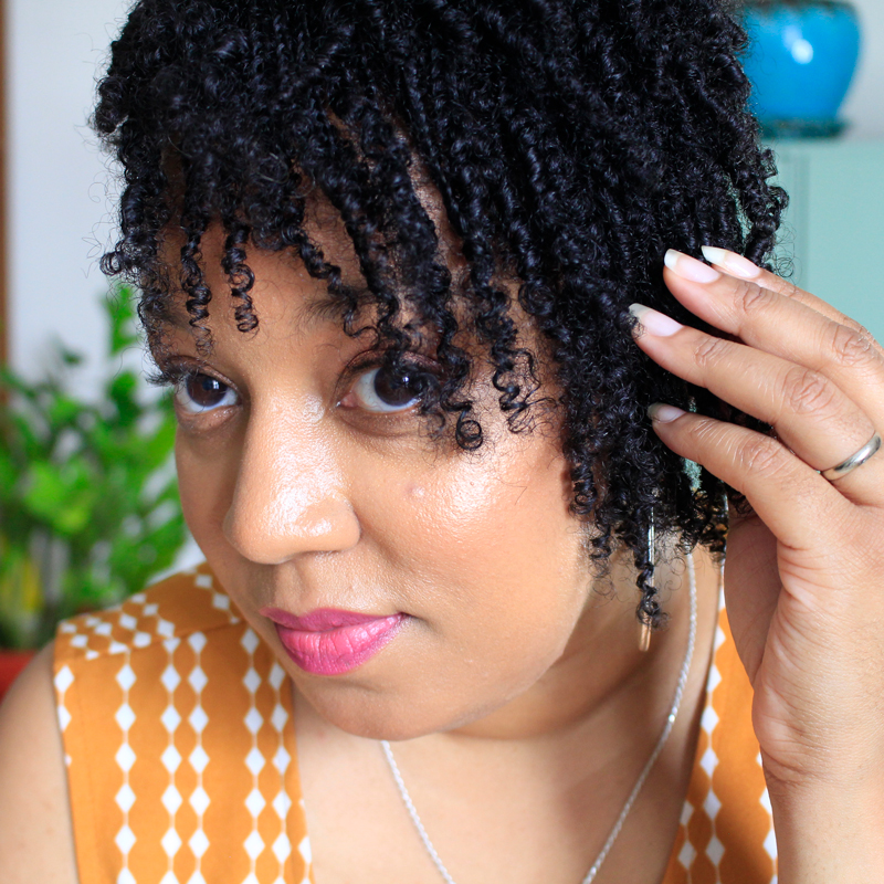 Mini Braids on naturally curly coily hair | Naturally Stellar