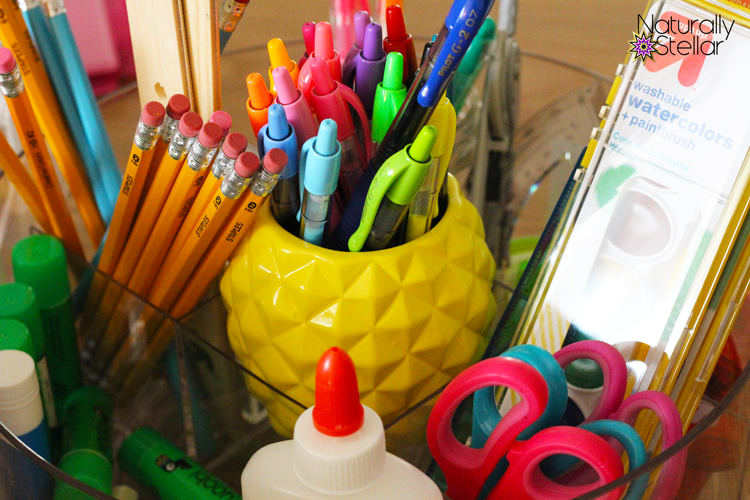 School supplies during tax free weekend | Naturally Stellar
