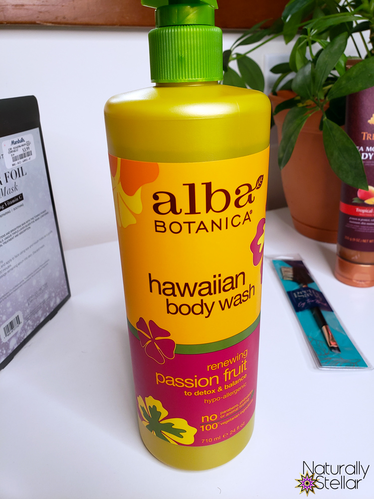 Alba Hawaiian Passionfruit Body Wash | Naturally Stellar
