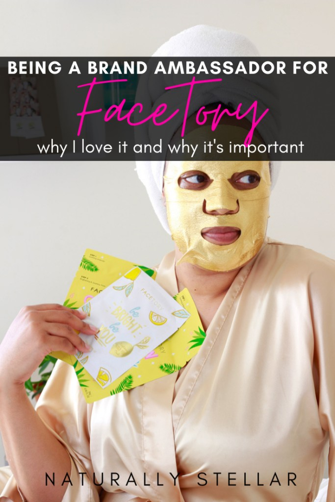FaceTory Brand Ambassador Naturally Stellar