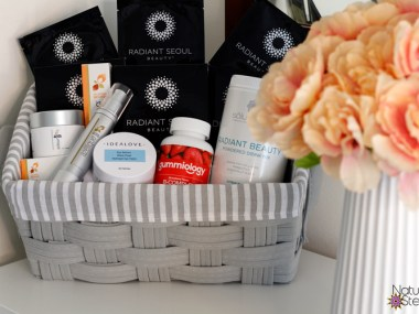 Create the perfect homemade spa basket with beauty brands at iHerb | Naturally Stellar