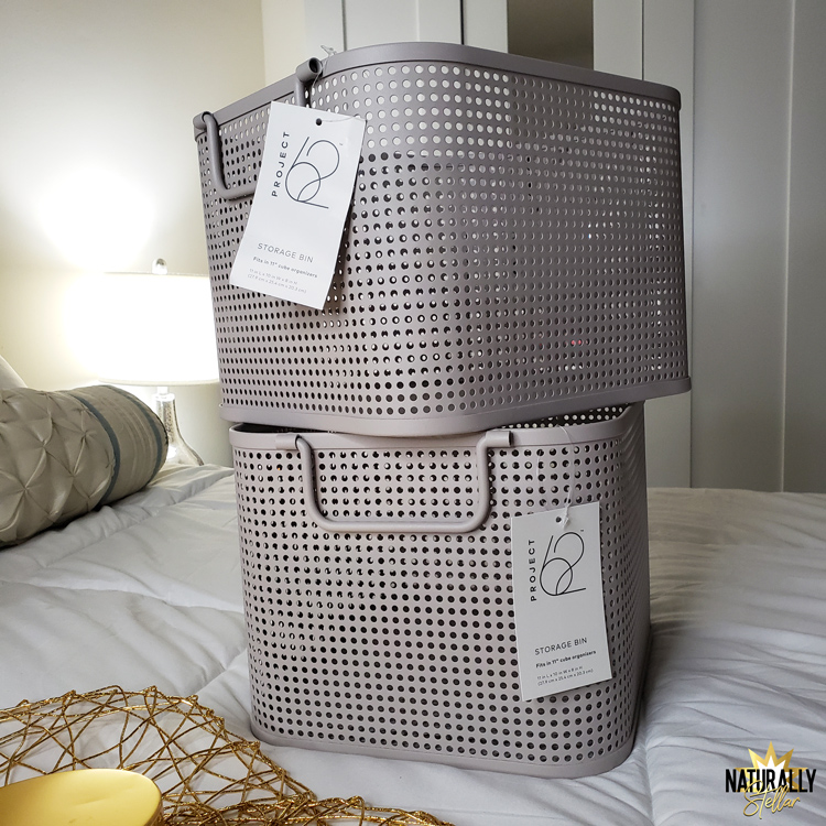 Storage baskets come in a variety of sizes and materials to help organize your home | Naturally Stellar