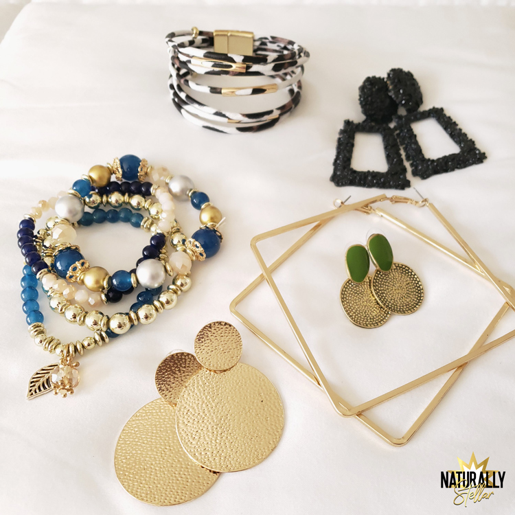 Shein Jewelry finds. My One Year Experience Shopping At Shein | Naturally Stellar