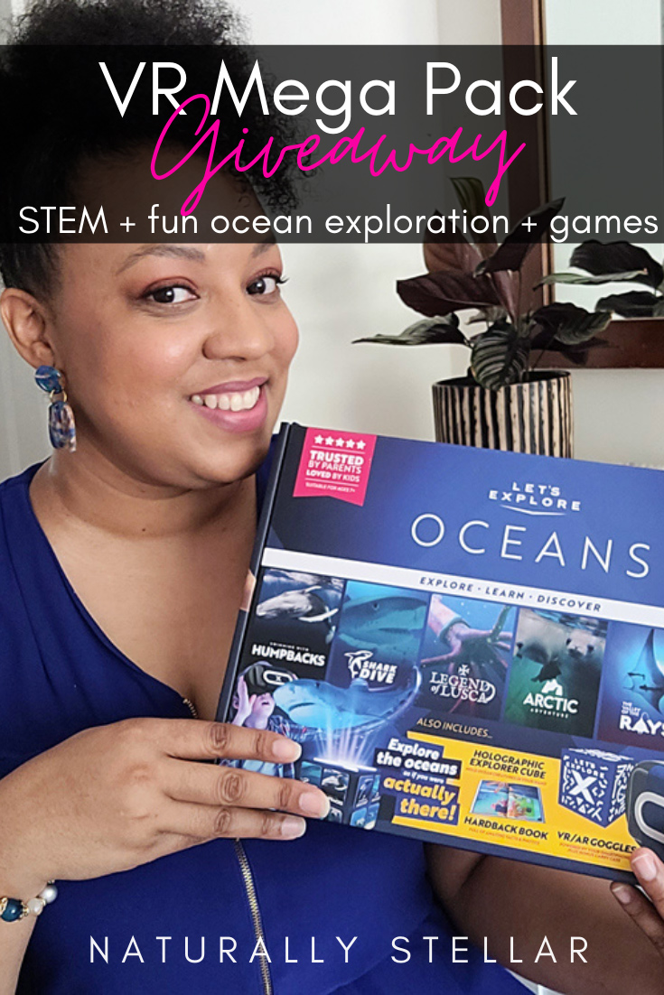 Let's Explore: Oceans VR Headset review and giveaway | Naturally Stellar