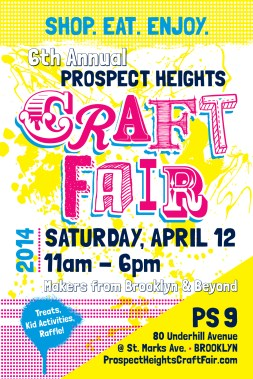 6th Annual Prospect Heights Crafts Fair