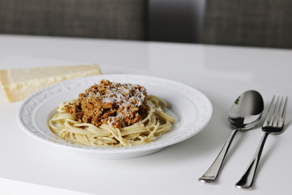 Healthy bolognese