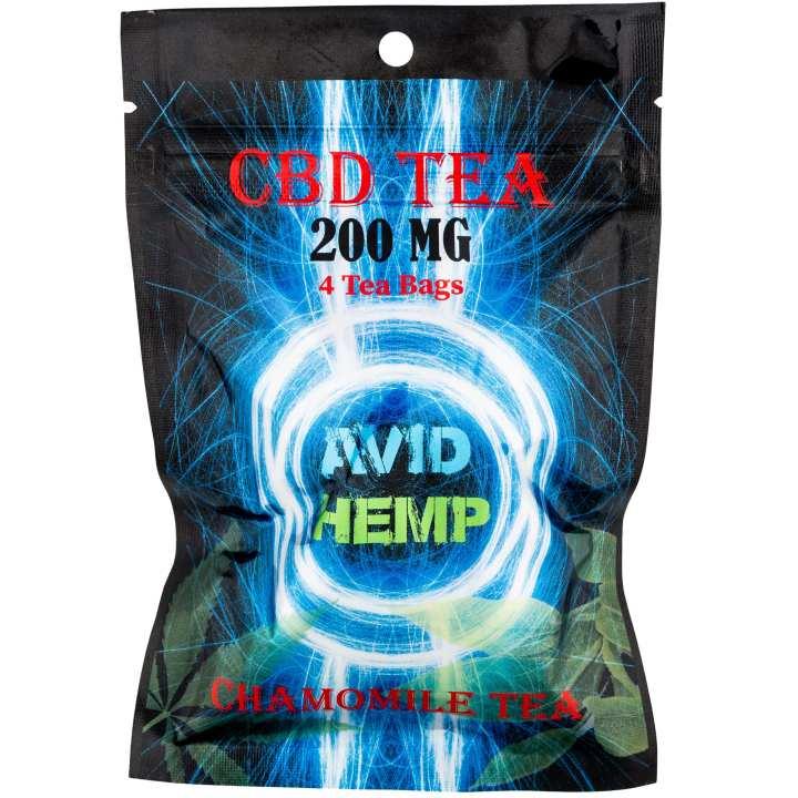 A package of CBD Tea Bags.