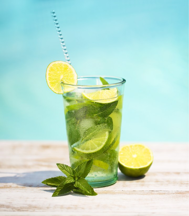 A mojito mocktail is part of a health trend away from alcohol based drinks.