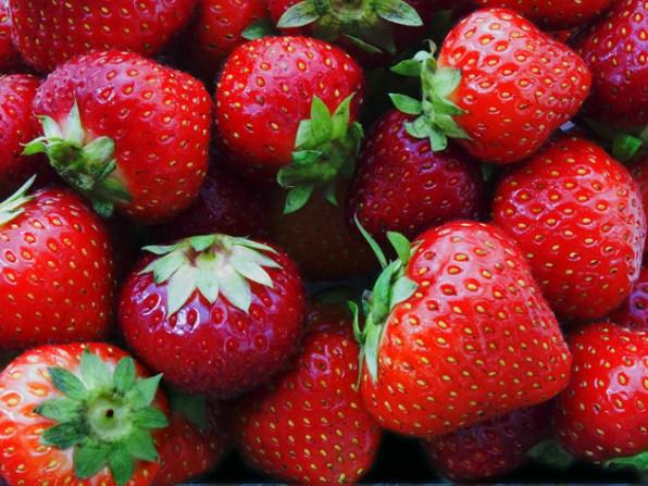 propiedades curativas de la frutilla