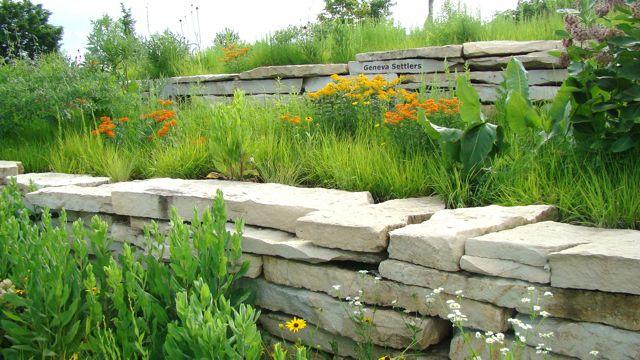 River walk wall and BFW