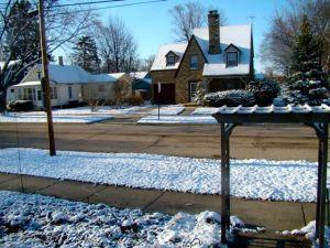 more snow april