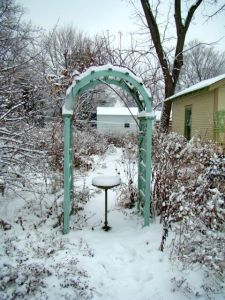 arch in snow 2013