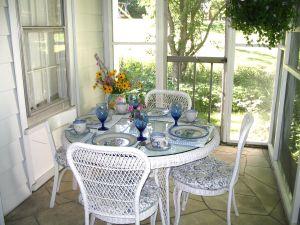 June's porch