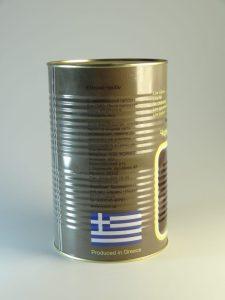 VITOLIO чорні маслини Атлас б/к 70/90 4,65 кг ,сух.вага 2,0 кг 51505