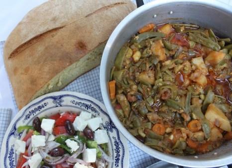 Греческий салат - деревенский салат