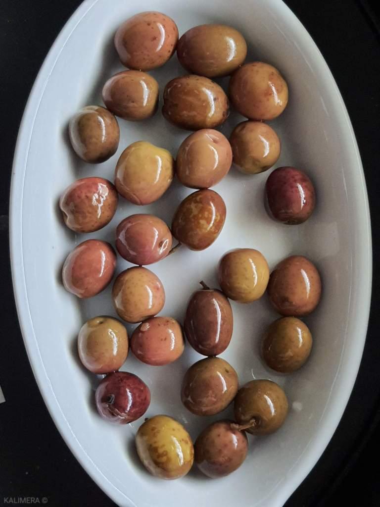 Стародавняя оливка.