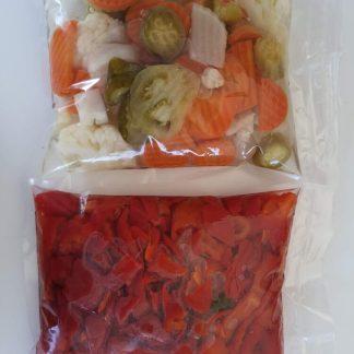 Перец и овощи набор для солянки