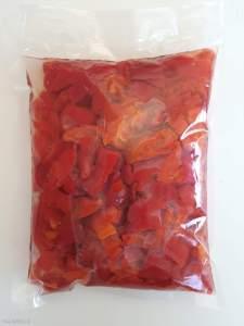 Грецькі червоні перці 860г м.нетто, 430г сухой.в, вак.уп. 70811