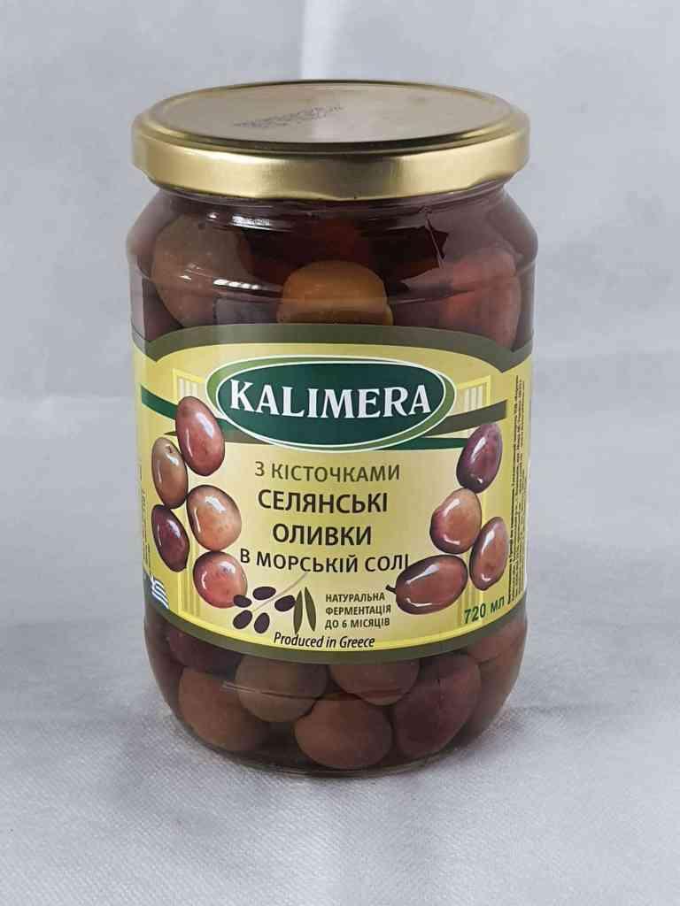 Оливки и маслины в Греции