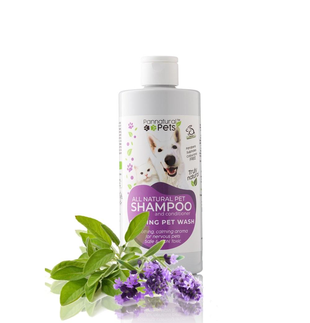Pannatural Pet Calming Pet Bath Natural Pet Shampoo