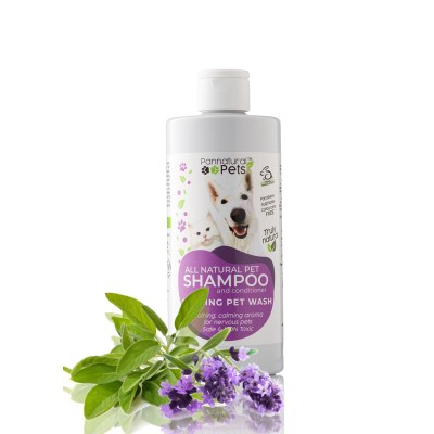 Pannatural Pet Calming Pet Bath Natural Pet Shampoo